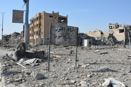 A view of Raqqa, one of the cities destroyed in the war in Syria EFE / Youssef Rabih Youssef / Archive