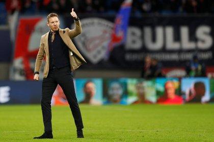 Julian Nagelsmann amplió su versatilidad táctica y profundizó su estilo de juego en el RB Leipzig (Foto: Reuters)