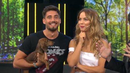 Flor y Nico en una de sus últimas apariciones en televisión