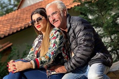 La modelo y Vicente Fernández Jr. están más unidos que nunca, a pesar de las voces críticas (IG: marianagp01)