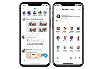 Twitter anunció Spaces para conversar por audio
