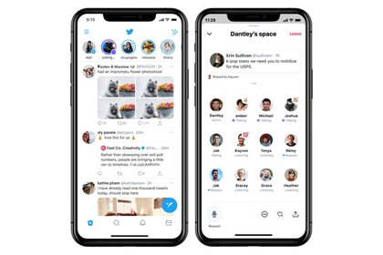 Twitter anunció Spaces para conversar por audio