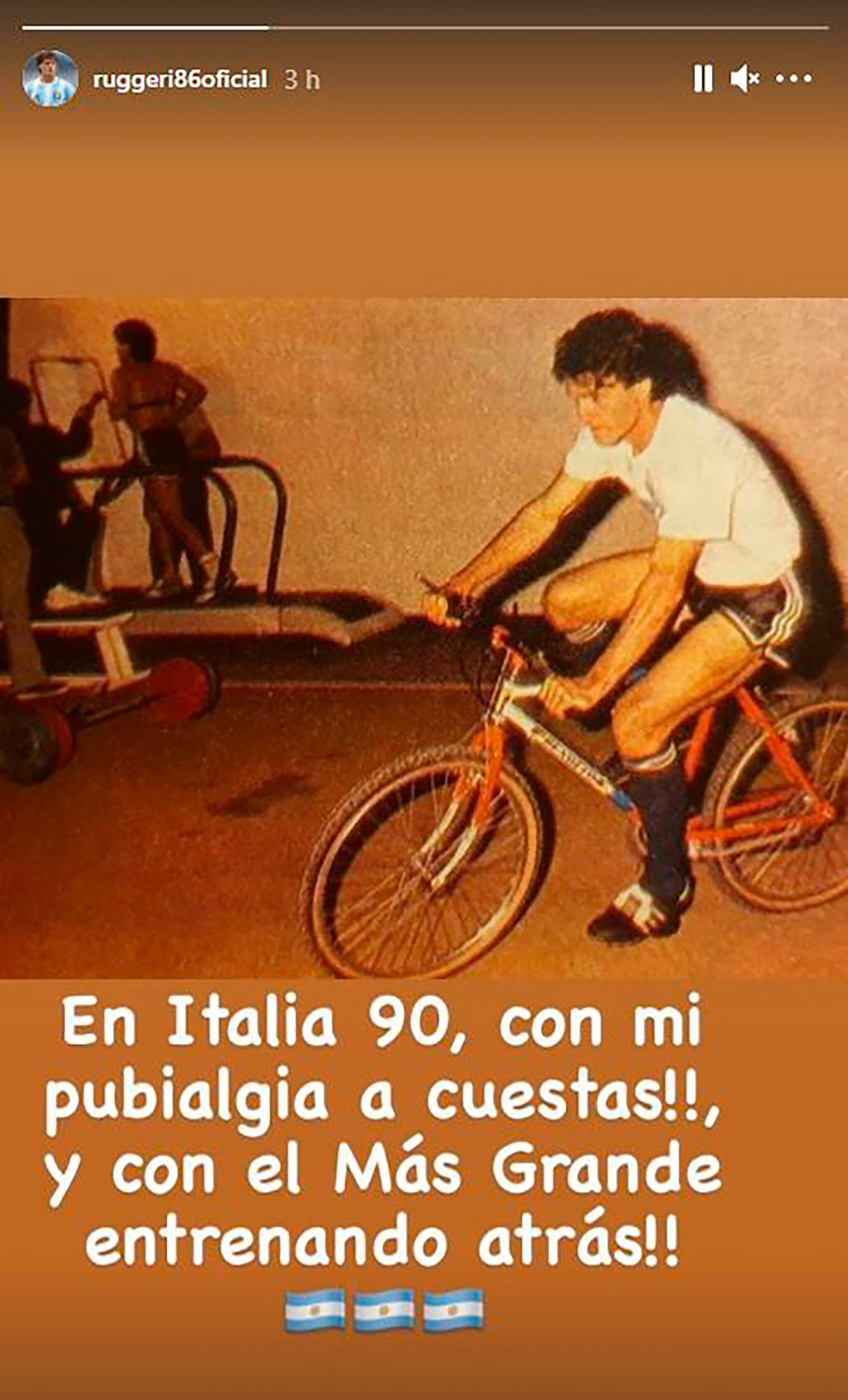 Ruggeri-Maradona Italia 90