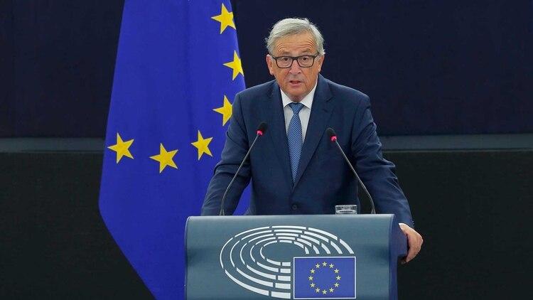 Jean-Claude Junker aseguró que si el Parlamento británico no aprueba el acuerdo, el Brexit podría no producirse (Reuters)