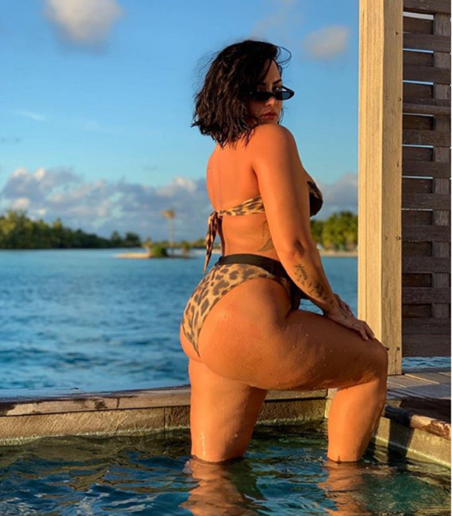 Al natural y sin filtro: la foto que publicó Demi Lovato y que obtuvo más de seis millones de likes en menos de 12 horas