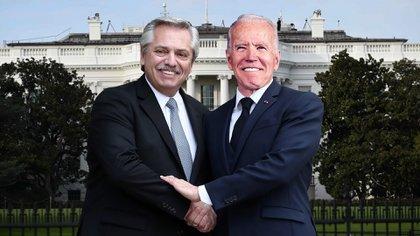Fernández y Biden destacaron la larga relación entre Argentina y Estados Unidos (Ilustración)