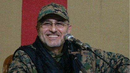 Mustafa Badredinne, comandante militar de Hezbollah, supervisaba los combates contra rebeldes y extremistas en Siria AP 163
