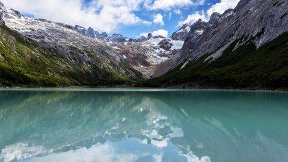 La Laguna Esmeralda es uno de los lugares donde abundan los turbales (Shutterstock)