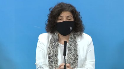La ministra de Salud de la Nación, Carla Vizzotti
