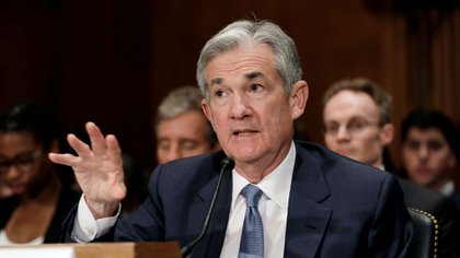 Jerome Powell, presidente de la Reserva Federal de EEUU (Reuters)