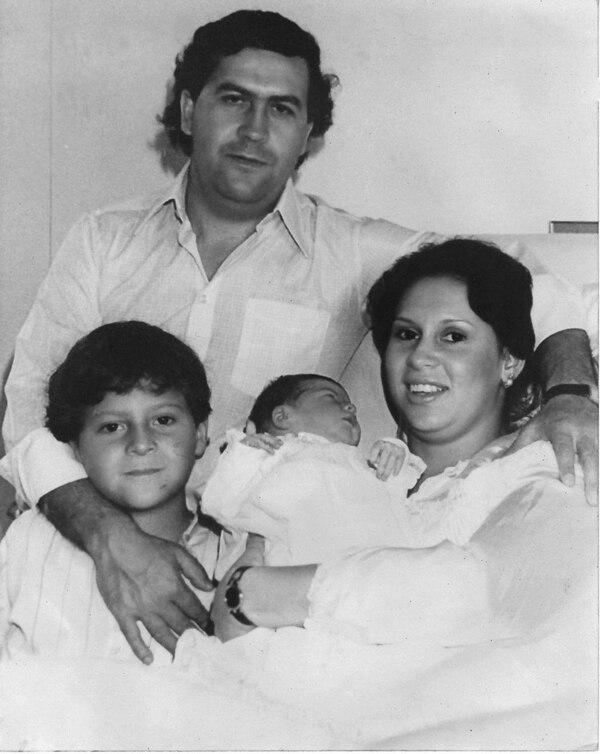 La familia Escobar. Fotografía cortesía de la familia Escobar