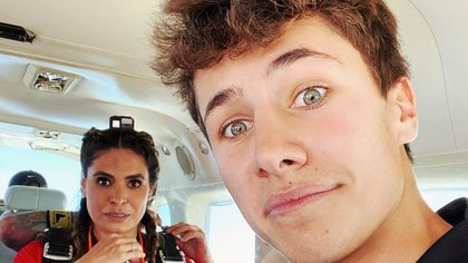 Juanpa también había tenido un desliz con Galilea Montijo, luego de que criticara al físico de Cuauhtémoc Blanco, quien era novio del conductor (Foto: Instagram @juanpa Zurita)