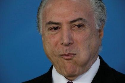 El rechazo de figuras del establishment como el presidente Temer potencia a Bolsonaro (REUTERS/Ueslei Marcelino)