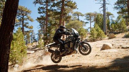 La Harley Pan America, uno de los lanzamientos previstos para 2021.