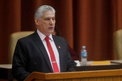 En la imagen, el presidente cubano, Miguel Díaz-Canel. EFE/Yander Zamora/Archivo