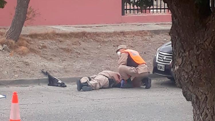 El prefecto fue llevado a un hospital de la zona pero murió a los pocos minutos