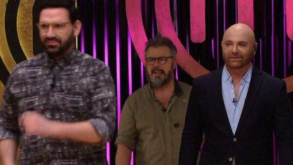 Damián Betular, Donato de Santis y Germán Martitegui: jurado de Masterchef Celebrity