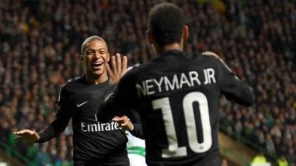 Neymar y Mbappé conquistaron la Ligue 1