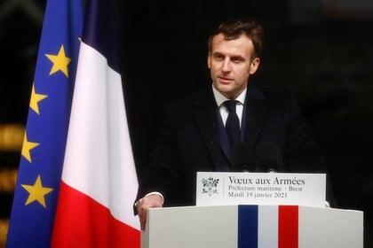 Emmanuel Macron. REUTERS/Stephane Mahe/Pool