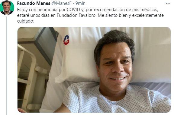 FAcundo MAnes Covid
