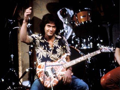 Eddie Van Halen en 1985 (Globe Photos/Mediapunch/Shutterstock)
