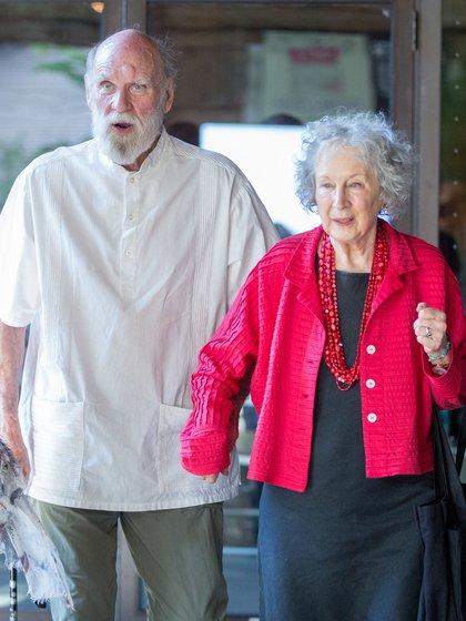 Graeme Gibson y Margaret Atwood (Shutterstock)