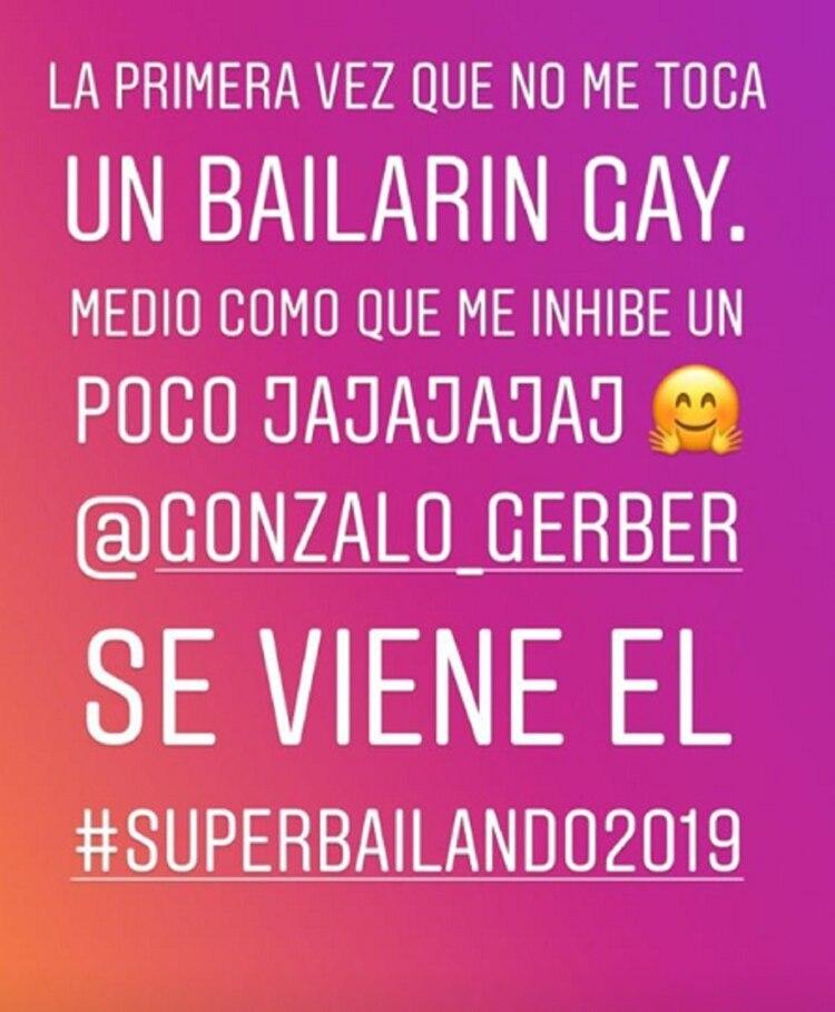 La publicación de Luciana Salazar en su Instagram Stories