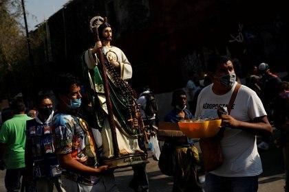 San Judas Tadeo es el patrón de las causas perdidas o imposibles (Foto: Reuters/Carlos Jasso)