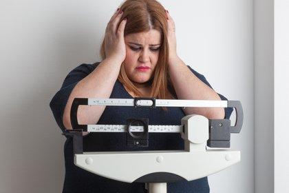 """""""No bajo de peso por falta de voluntad"""", una de las frases más repetidas en los consultorios (Shutterstock)"""