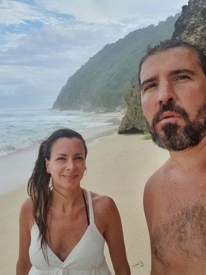 """Federico Malenoski Roveres  viajó con su mujer de vacaciones """"ya se terminaron hace rato"""""""