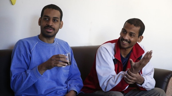 Alexanda Kotey y El Shafee Elsheikh (AP)