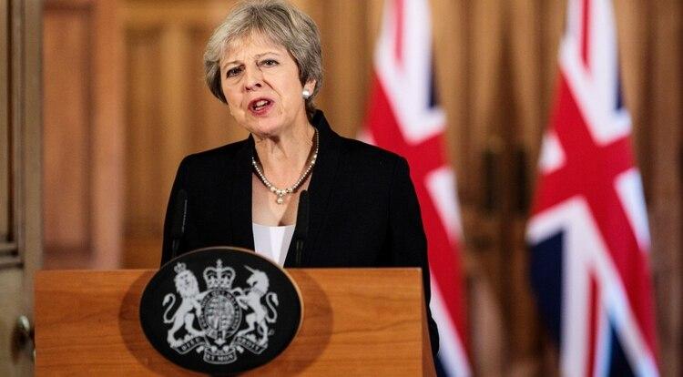 Theresa May (Jack Taylor/Pool via Reuters)