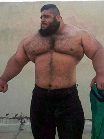 El Hulk iraní tendrá la oportunidad de demostrar su capacidad para pelear