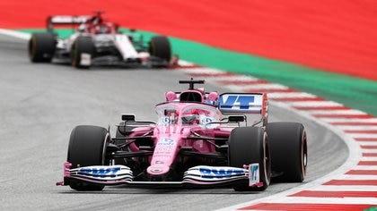 Sergio Pérez dominó primera sesión para el Gran Premio de Estiria