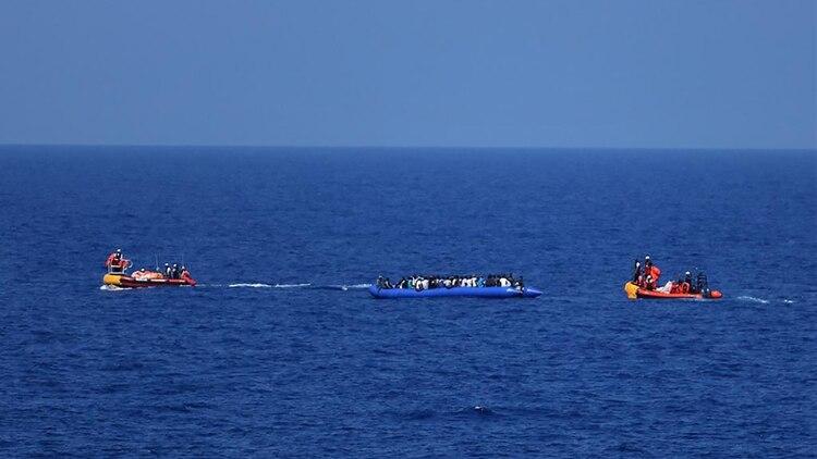 Los barcos humanitarios realizaron tres rescates en los últimos tres días (Hannah Wallace Bowman / MSF )