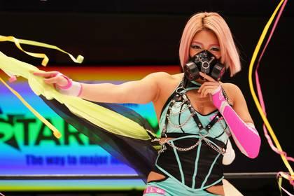 La luchadora también compartió el ring con  Goya Kong y Black Fury  (Foto: Especial)