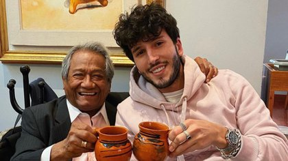 Armando Manzanero se reunió con Sebastián Yatra hace unos meses