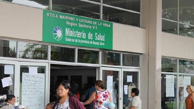 La beba baleada permanece internada en el Hospital Mariano y Luciano de la Vega, de Moreno