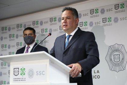 """También aseguró se que han encontrado """"cosas raras"""" en las investigaciones contra los legisladores panistas que fueron señalados por Emilio Lozoya de supuestamente recibir sobornos (Foto: Twitter/SSC_CDMX)"""