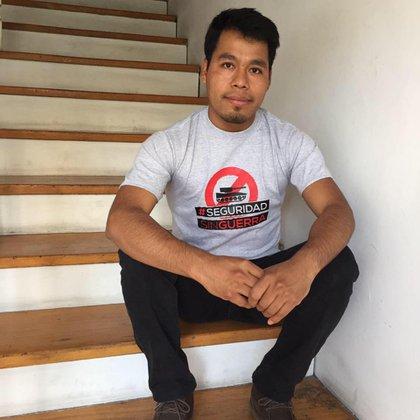 Omar García, uno de los sobrevivientes del 26 y 27 de septiembre de 2014 (Foto: Facebook/Omar García)