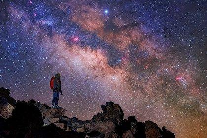 La Vía Láctea (Foto: EFE/ Daniel López/Archivo)