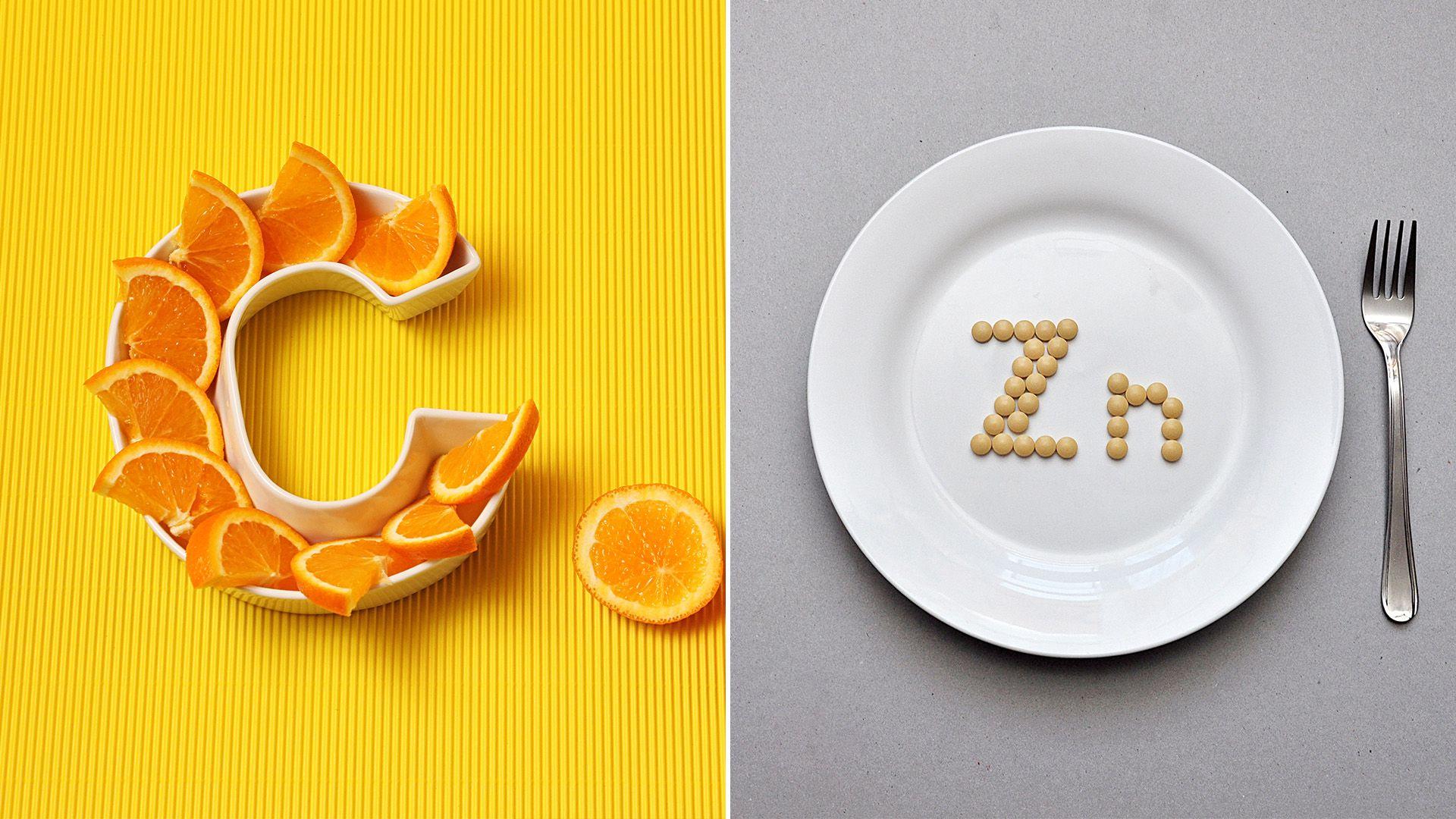 Vitamina C y Zinc