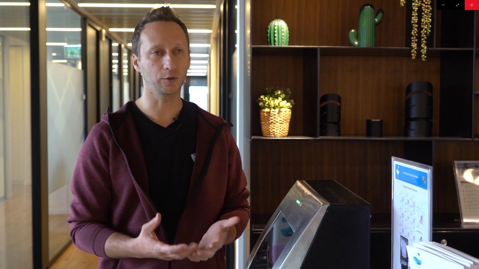 Max Simonovsky, el inventor y CEO de la compañía israelí