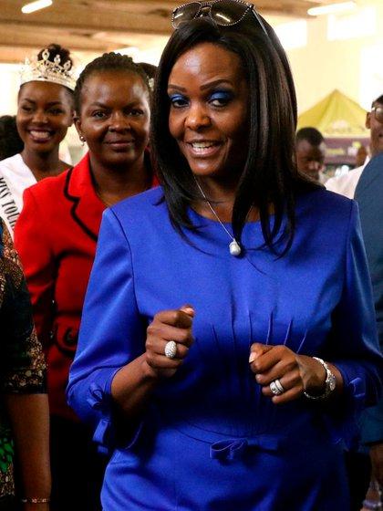 Grace Mugabe (Reuters)