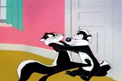 Pepe Le Pew debutó en 1946 en las sagas de Merrie Melodies (Foto: Warner Bros)