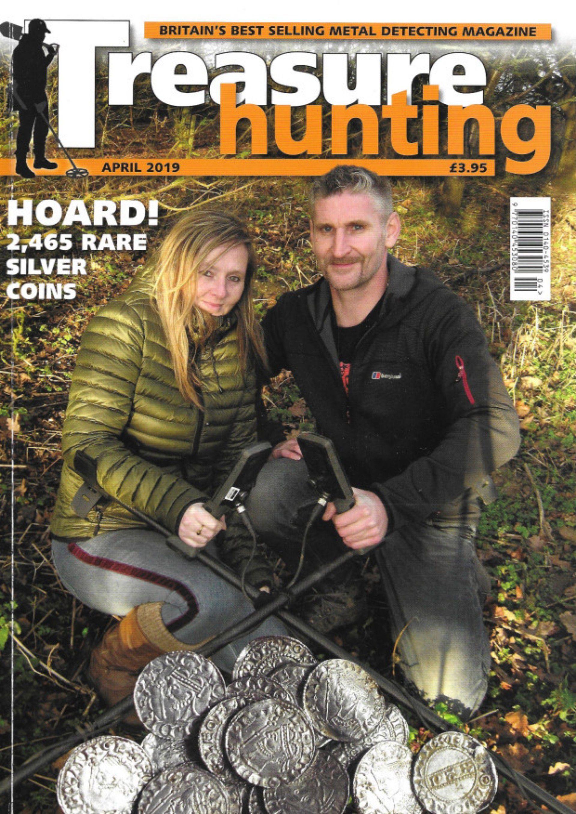 Lisa Grace y Adam Staples aparecieron en la portada de la revista Treasure Hunting (Foto: Especial)