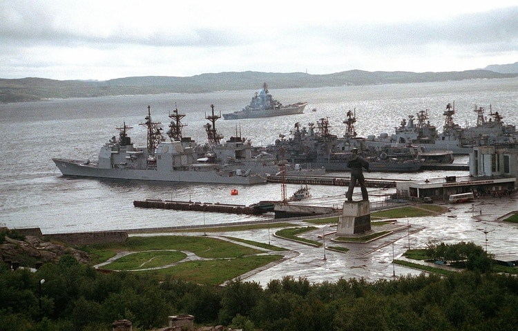 Base naval de Severomorsk (Wikimedia Commons)