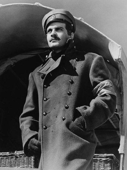 Sharif en su papel más célebre: El doctor Zhivago