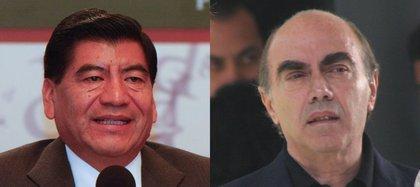 Kamel Nacif y Mario Marín (Foto: Cuartoscuro)