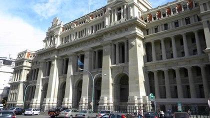 El Palacio de Tribunales donde está la Cámara en lo Contencioso Administrativo Federal